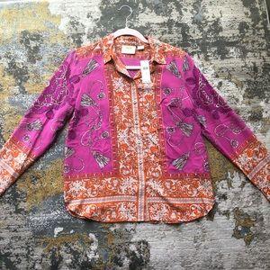 Anthropologie Maeve silk blouse!
